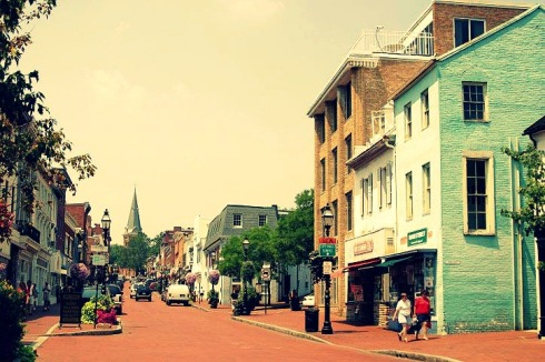 Main Street, Formerly Church Street, Annapolis, Maryland, USA