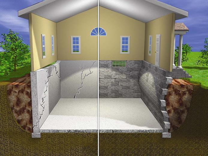 Real estate a s k h o m e s a l e for Types of basement walls