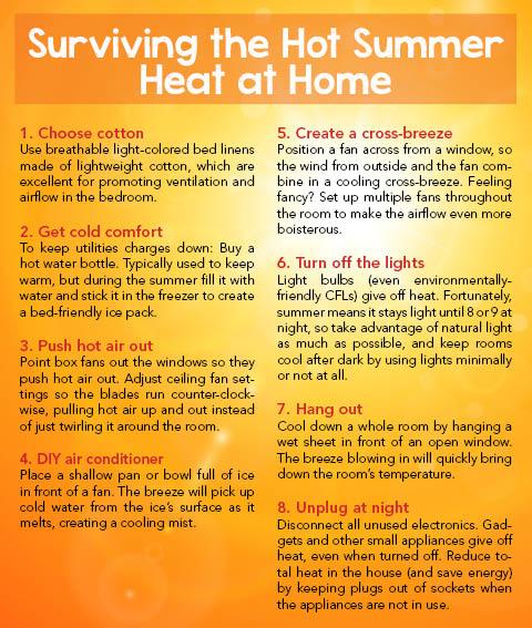Surviving the Hot Summer Heat at Home – A s k H o m e s a l e