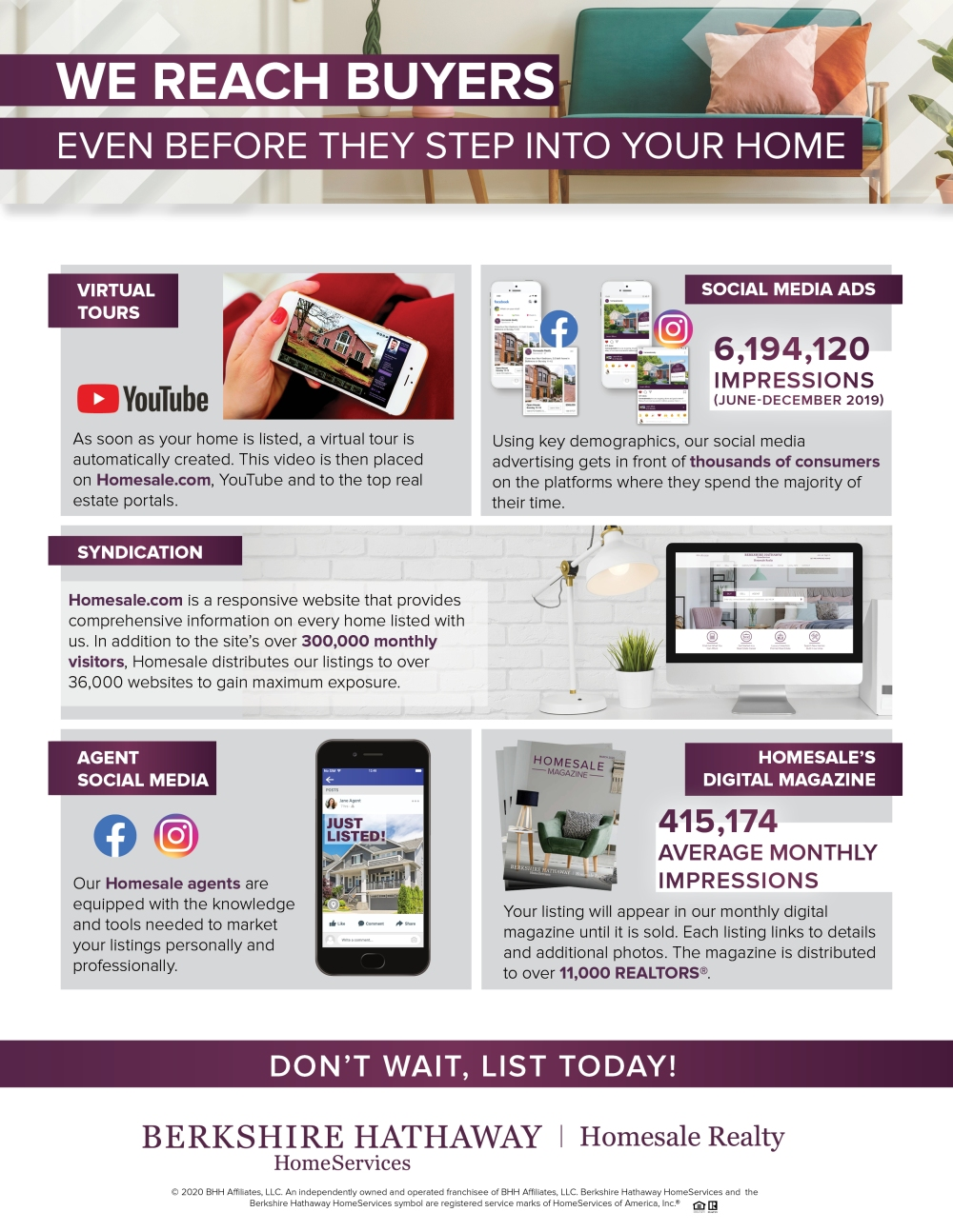 Homesale Marketing
