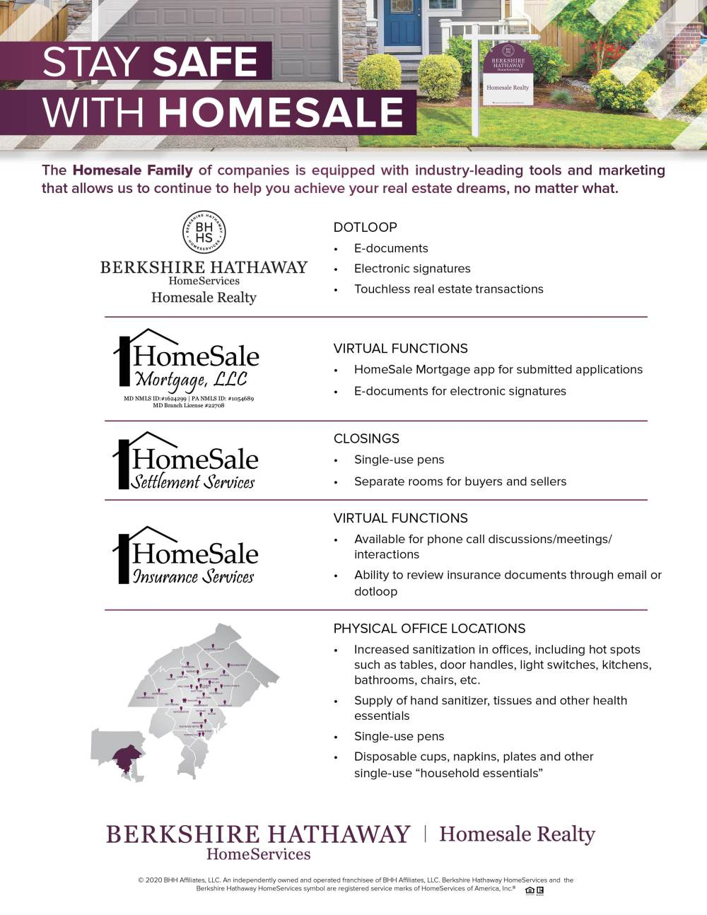 Stay Safe with Homesale